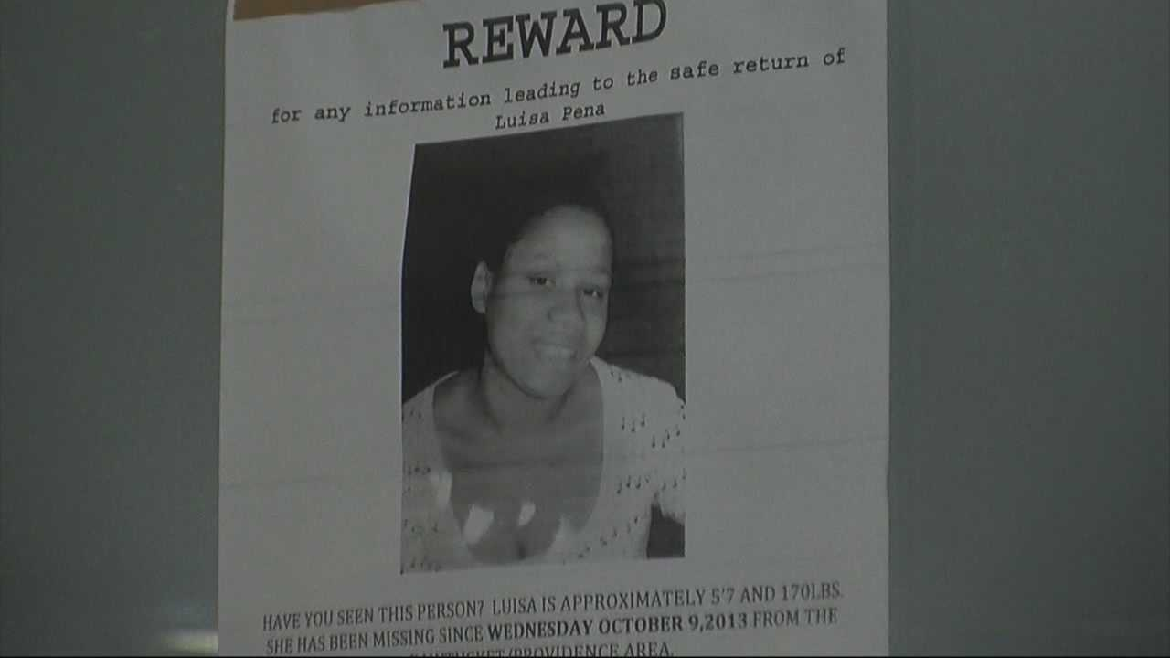 Pregnant woman missing