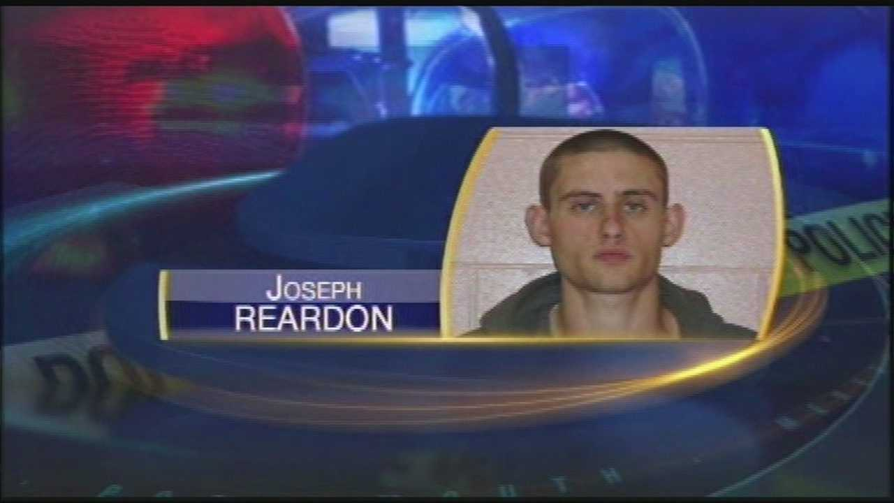 Accused robber found in tree