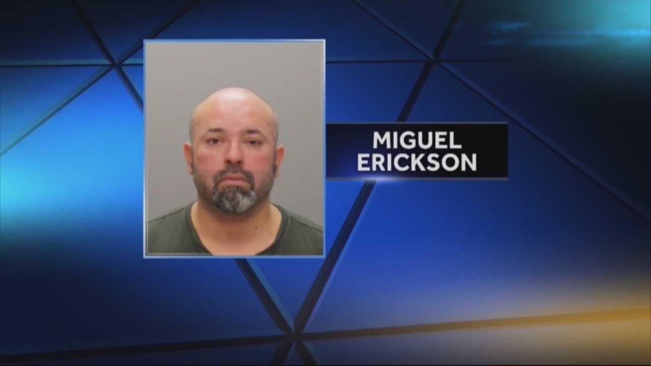 Man accused of touching sleeping women
