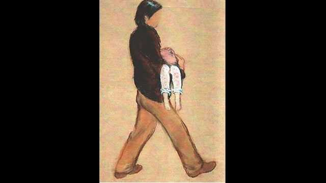 Madeleine McCann, man holding child
