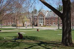 6. University of New Hampshire at Durham -13.1% of scores sent to school.