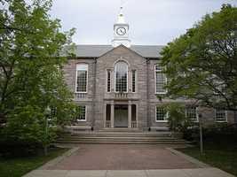 10. University of Rhode Island -10.1% of scores sent to school.