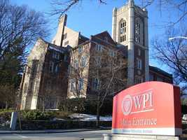 20.Worcester Polytechnic Institute -6% of scores sent to school.