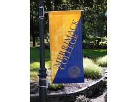27. Merrimack College- 5% of scores sent to school.