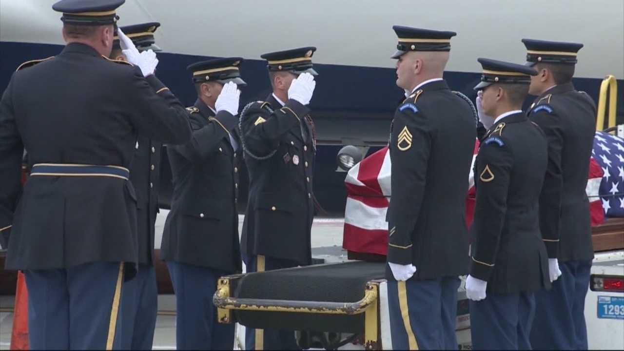 Man killed in Korean War returns home
