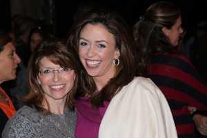 NewsCenter 5's Mary Saladna and Chronicle's JC Monahan