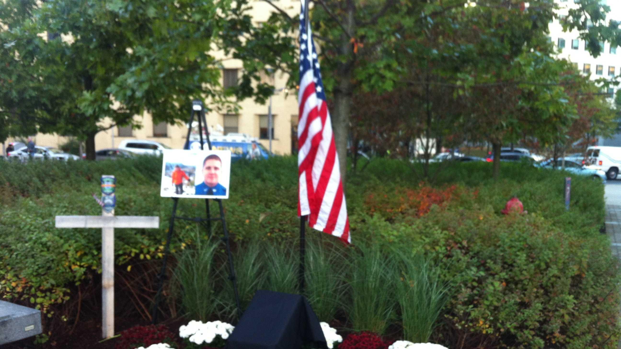 Sean Collier memorial 1018