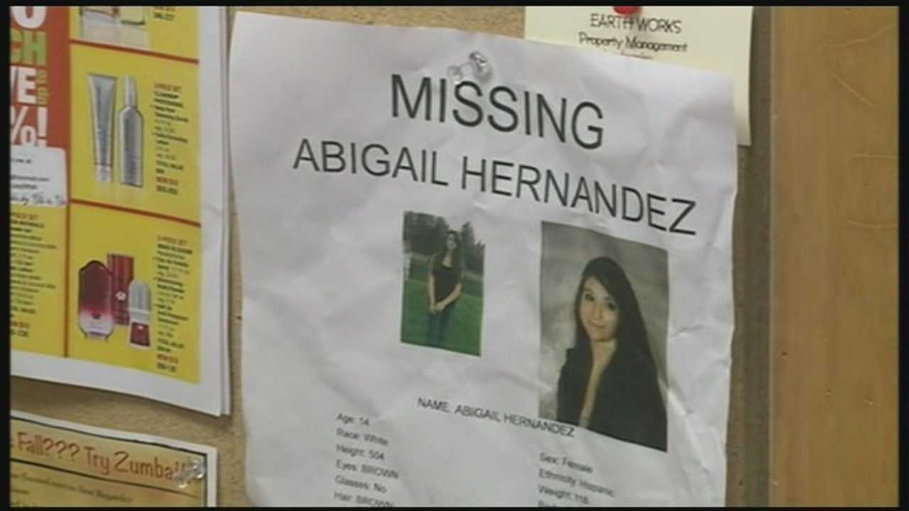 Community helps in search for missing teen