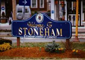 61.) Stoneham -- 11.11 percent increase from 2012 to 2013.