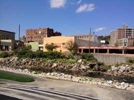 52.) Fitchburg -- 25 percent increase from 2012 to 2013.