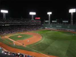 Today, Fenway's capacity is 37,400.