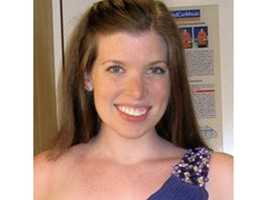 Colleen Ritzer, 24, was found dead behind the school, officials said.