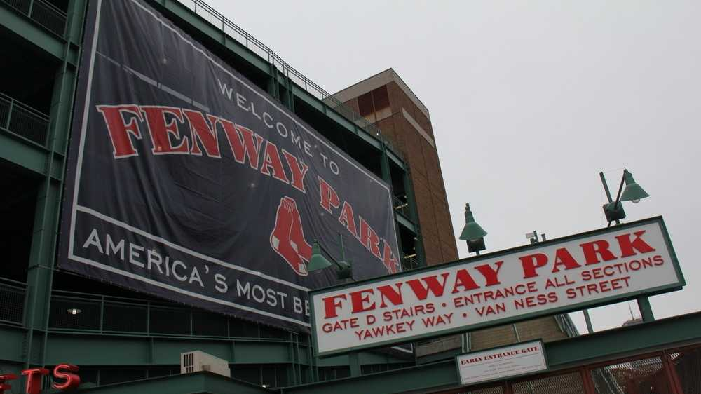 Fenway Park Gate D signs.JPG