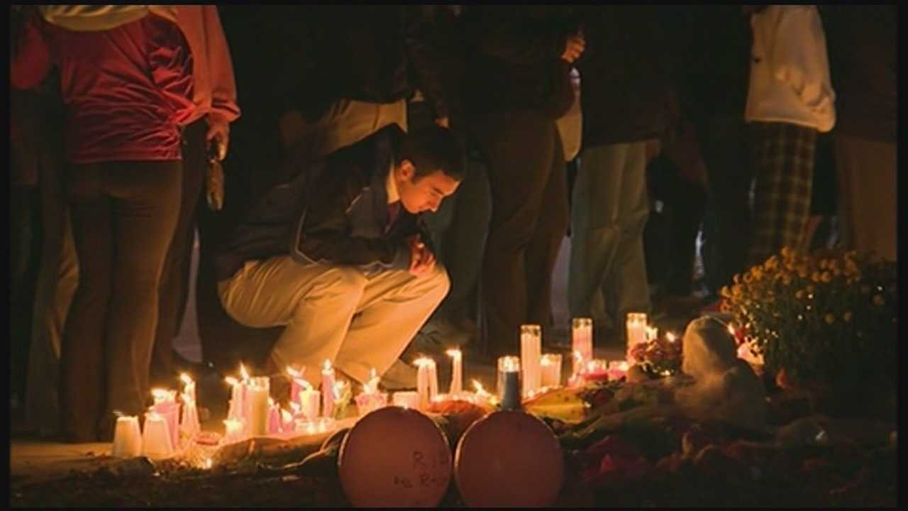 Danvers vigil held for slain teacher