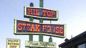 Hilltop cow