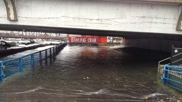 u Local Seaport Street Flooding