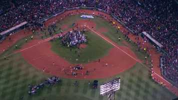 The Boston Red Sox are your 2013 World Series champions!