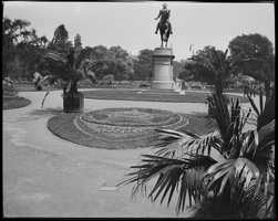 Washington Statue, Public Garden in 1918