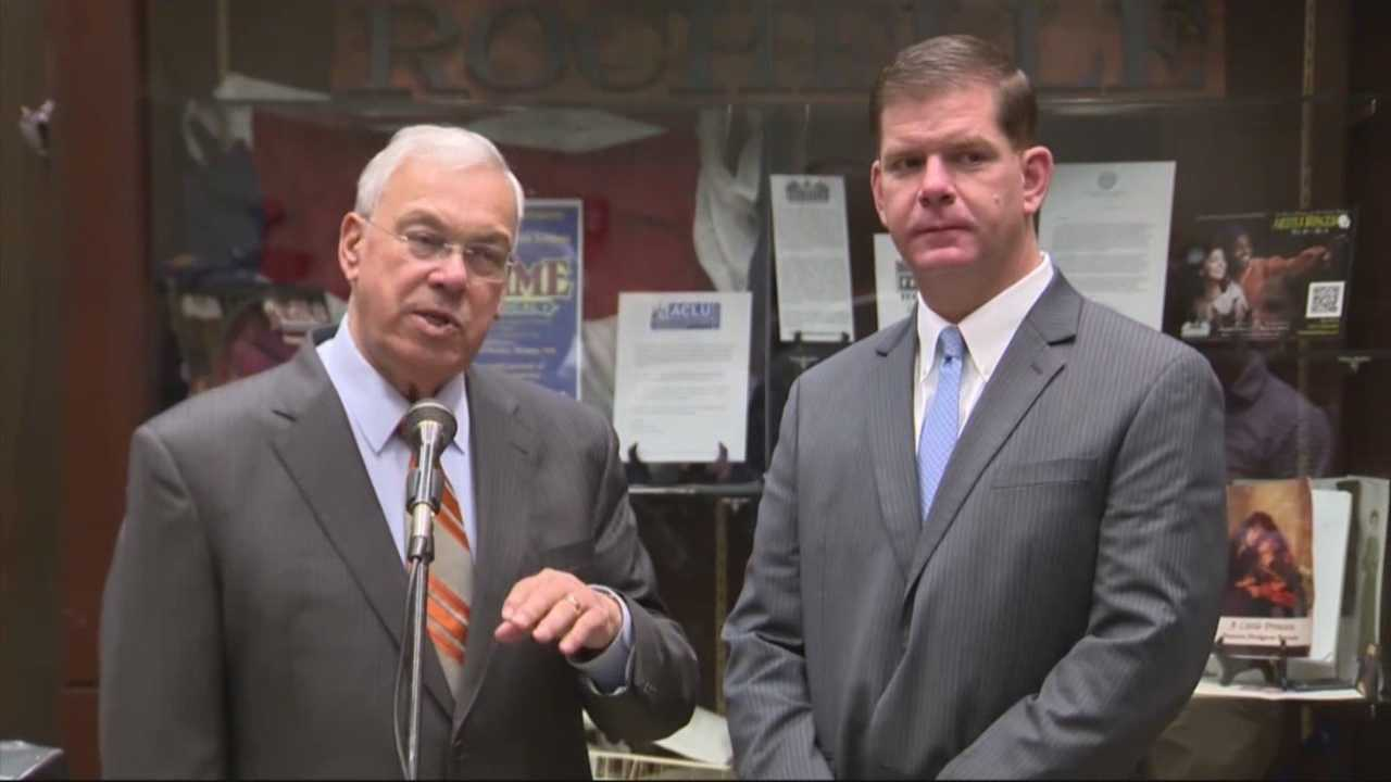 Menino meets with Walsh