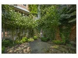 There is a ground-floor full one bedroom unit with a private entrance.