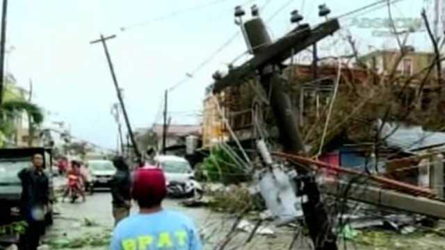 Typhoon Haiyan slams Tacloban City