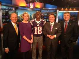 Harvey Leonard, Heather Unruh, Matthew Slater, Ed Harding and Mike Lynch.