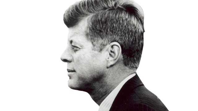 JFK side profile