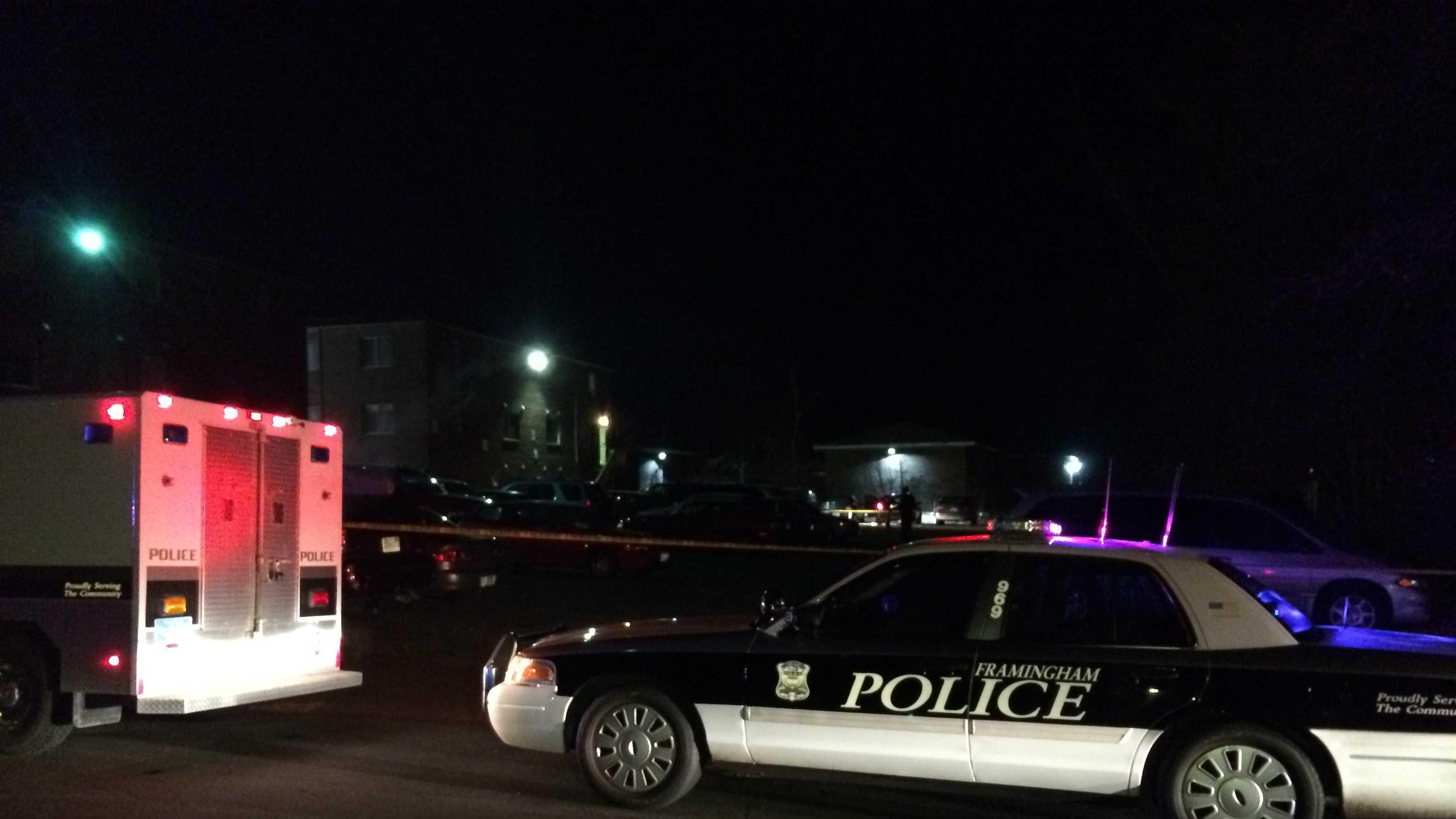 1 dead in Framingham shooting