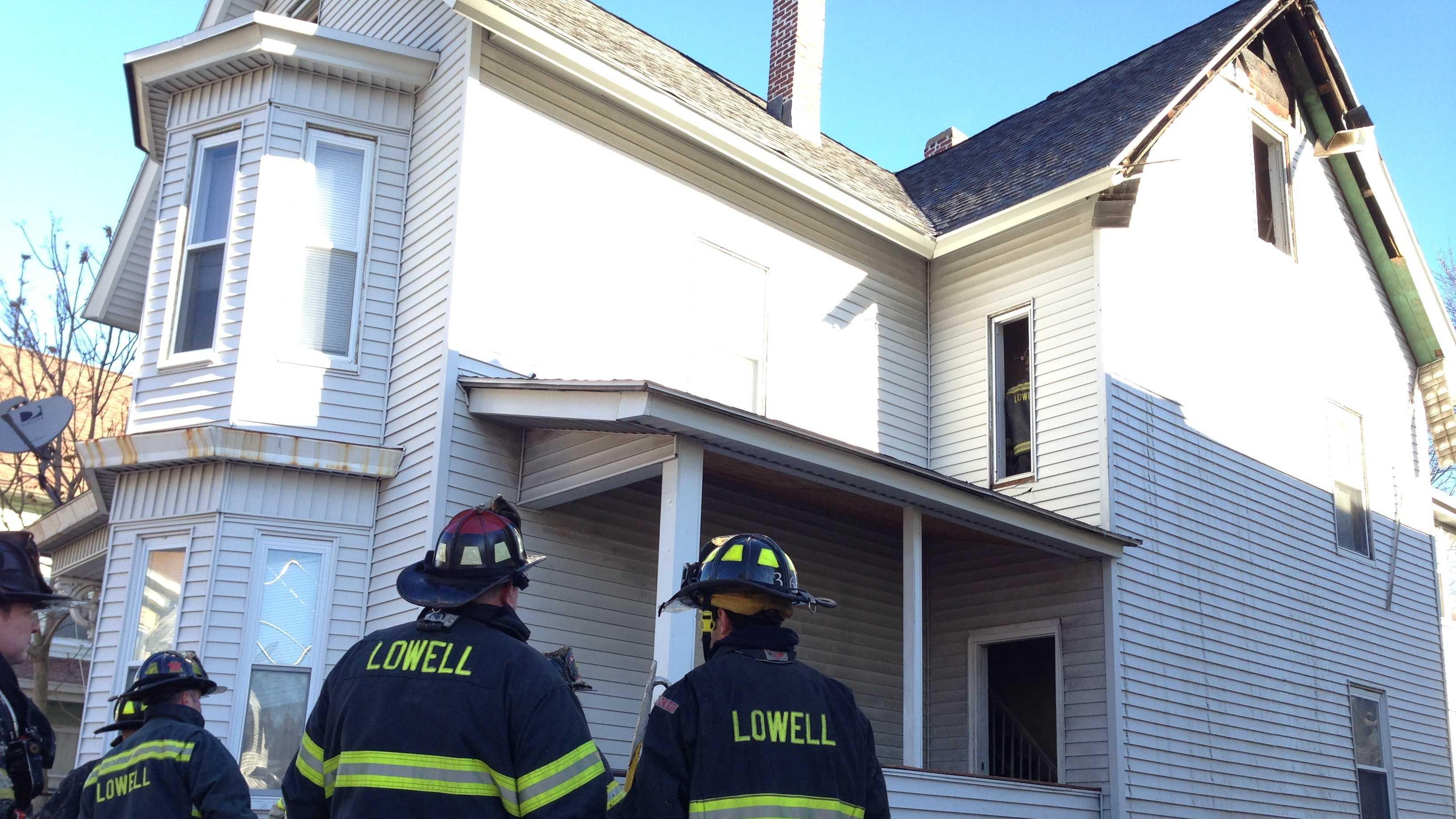 Lowell fire 1121