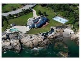 One-of-a-kind ocean front estate in exclusive Marblehead Neck.