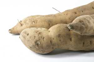 Choose four ounces of baked sweet potato and save 60 calories.