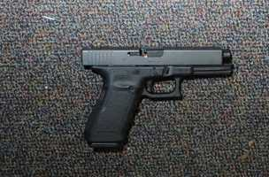 A Glock 20, 10 mm found near shooter in Room 10 of the Sandy Hook Elementary School.