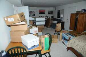 Photos from Lanza's basement office.