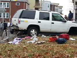 A 7-year-old girl was struck and killed by an alleged drunken driver while walking home from school with her mother in Dorchester on Tuesday.