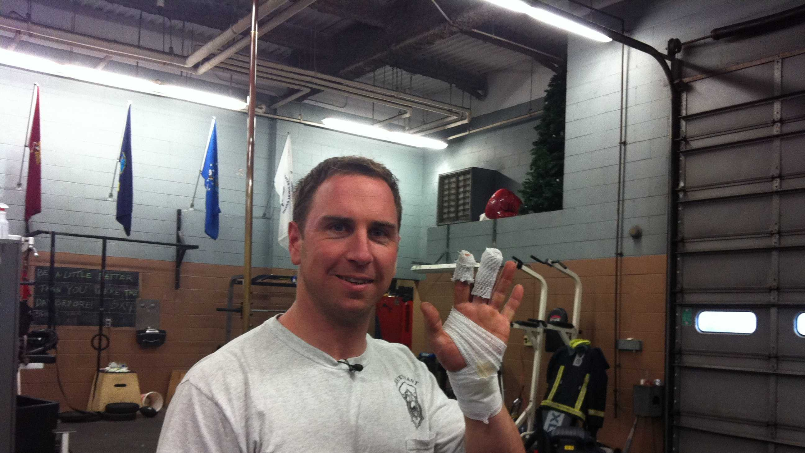 Firefighter Ryan McGovern 112713