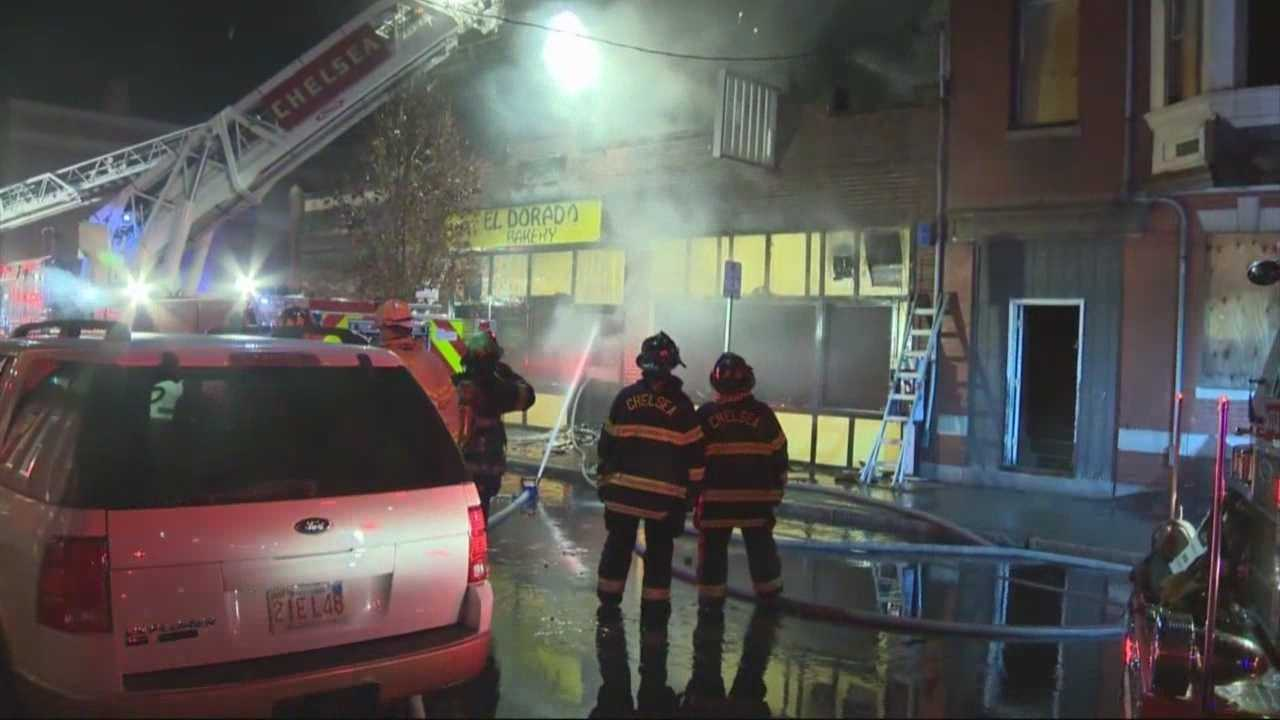 Landmark Chelsea bakery burns down