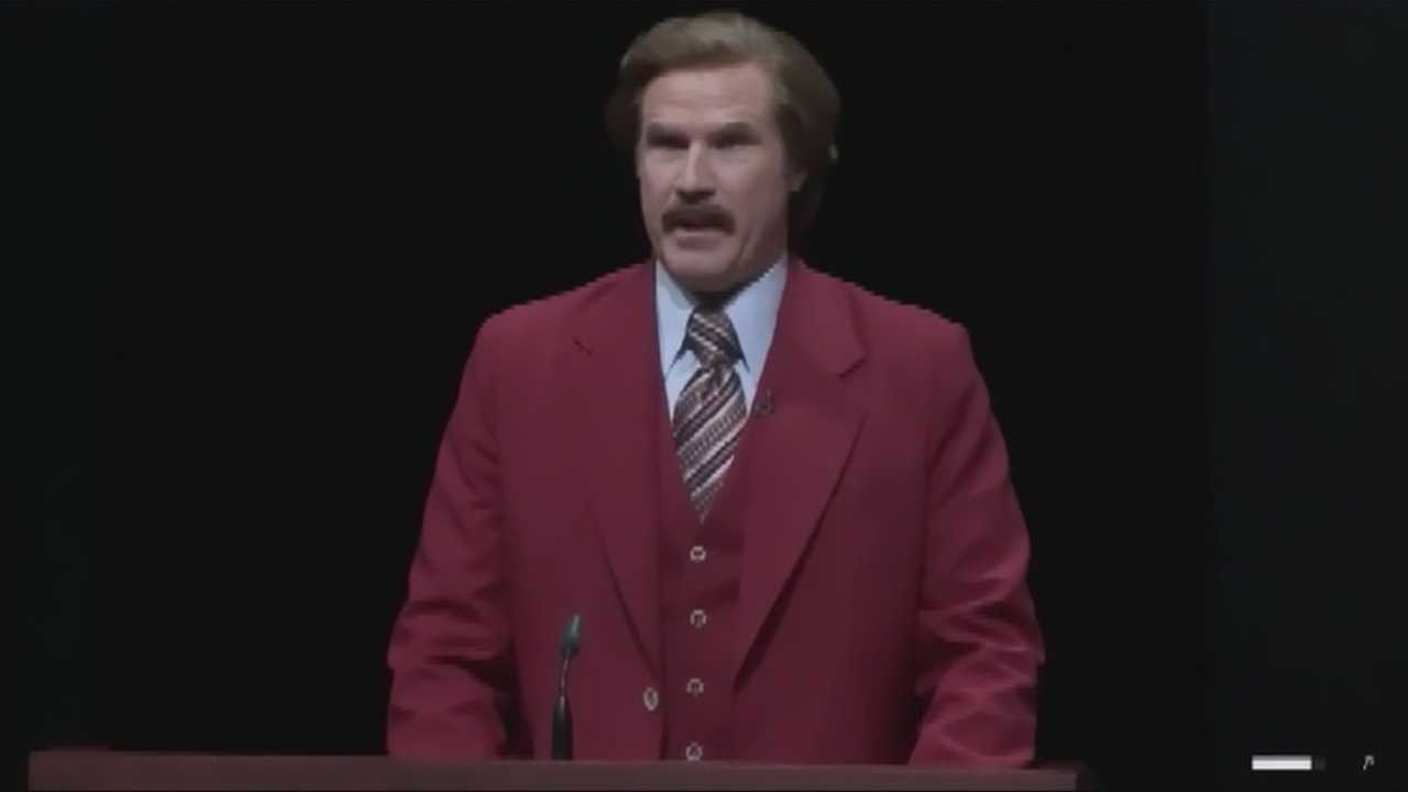 Emerson honors Anchorman Ron Burgundy