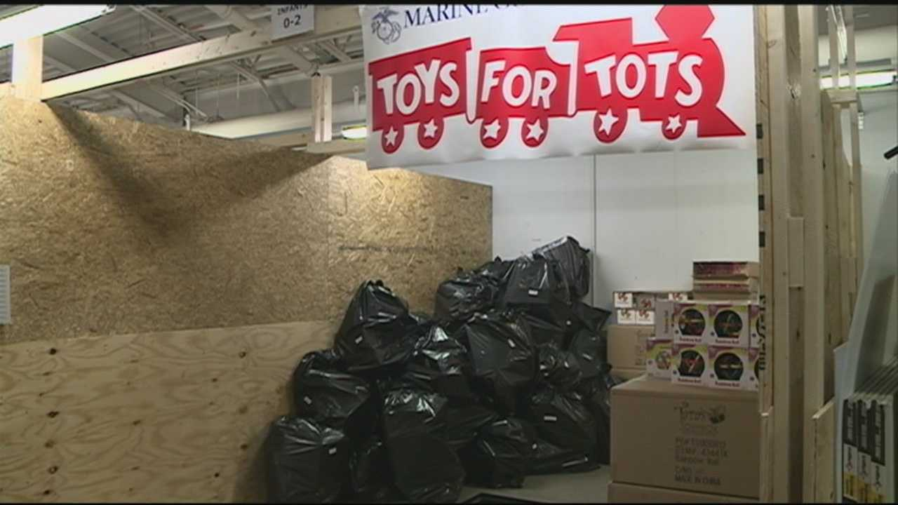 Thousands of toys still needed for Toys for Tots