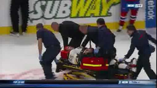 Boychuck Injury NESN freeze frame