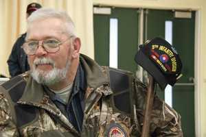 Vietnam Veteran Joe Tibbets from Columbia, Maine.