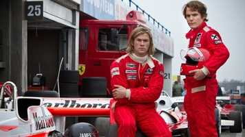 Rush: Chris Hemsworth stars in this film that showcases the Formula One rivalry between drivers James Hunt and Niki Lauda.