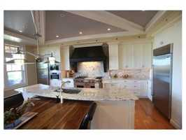The custom built kitchen by Kitchen Concepts is state of the art.