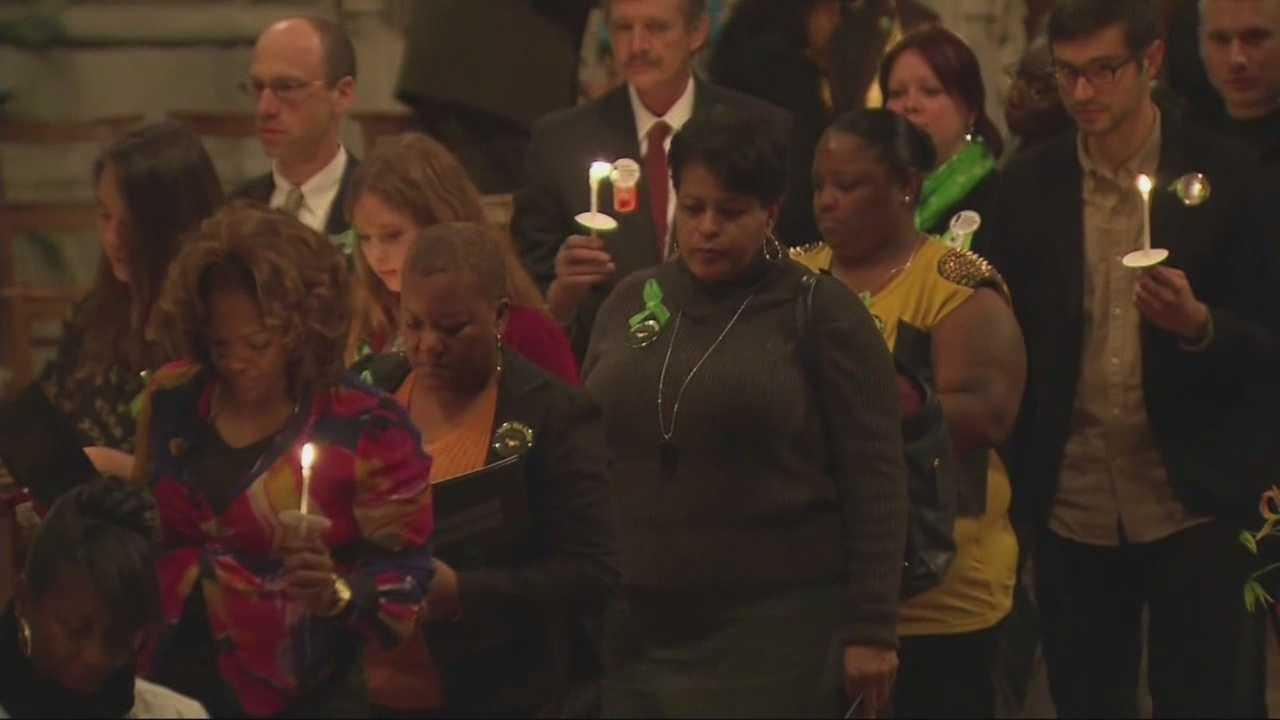 Newtown observances held in Boston