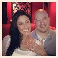 James Costello and Kristina D'Agostino met while Costello was being treated at Spaulding Rehabilitation Hospital. They are now engaged.