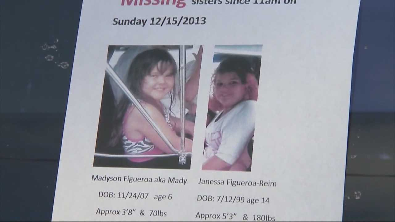 Sisters safe after being reported missing