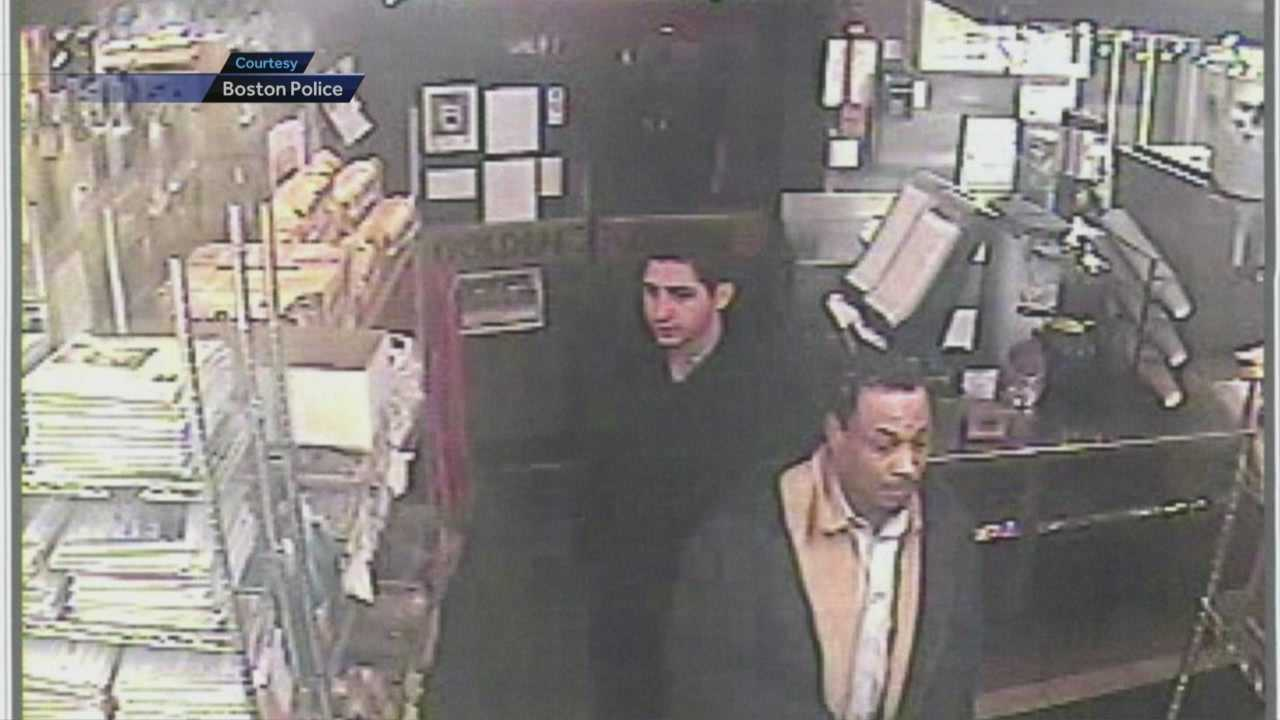 Robber team hit 5 stores, Starbucks in Boston