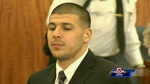 Aaron Hernandez in court 122313