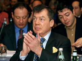 Edgar M. Bronfman Sr. was the billionaire businessman and longtime president of the World Jewish Congress, which lobbied the Soviets to allow Jews to emigrate and helped spearhead the search for hidden Nazi loot. Bronfman made his fortune with his family's Seagram's liquor empire. (June 20, 1929 – December 21, 2013)