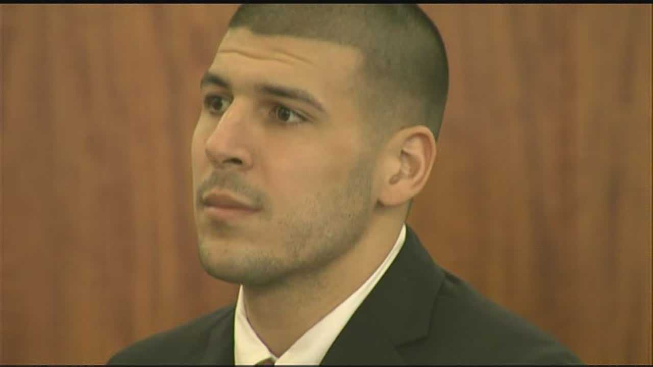 Judge in Aaron Hernandez case weighs gag order