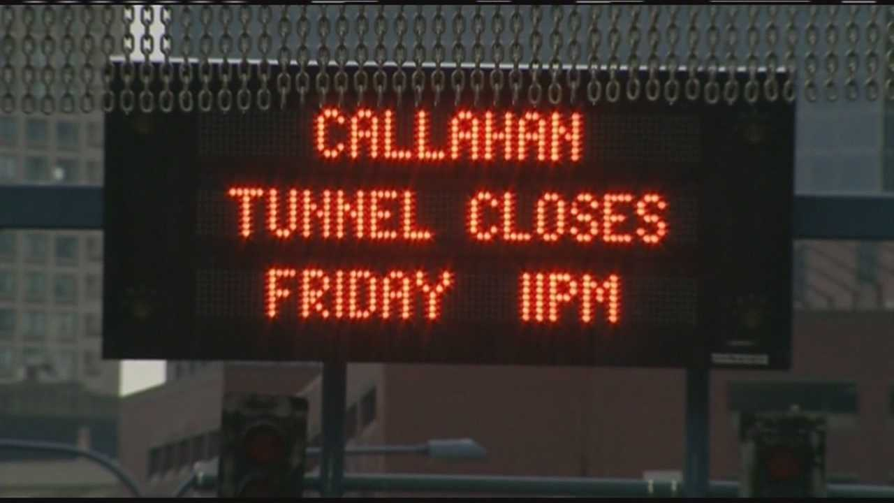 State officials outline plans for Callahan Tunnel closing